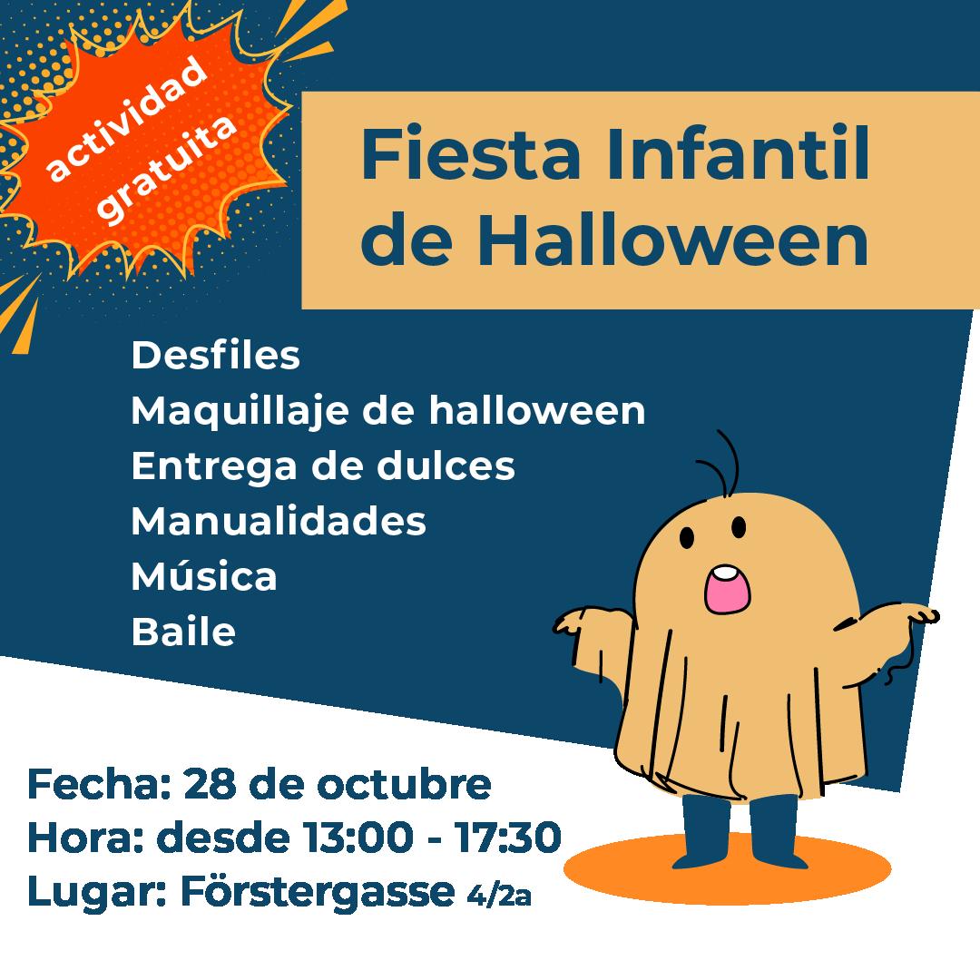 Fiesta infantil de Halloween Milat